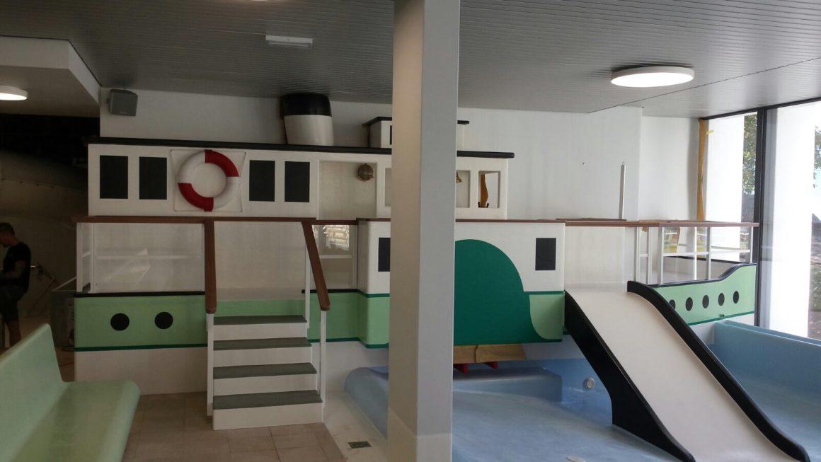 Hallenbad Oberhofen / Kinderplanschbecken 2017