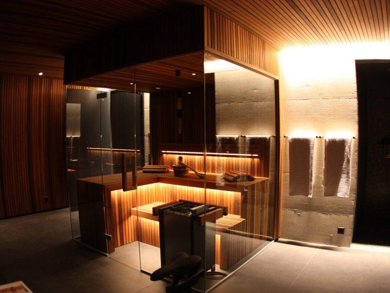 Exklusiver Sauna-Raumausbau / Privat