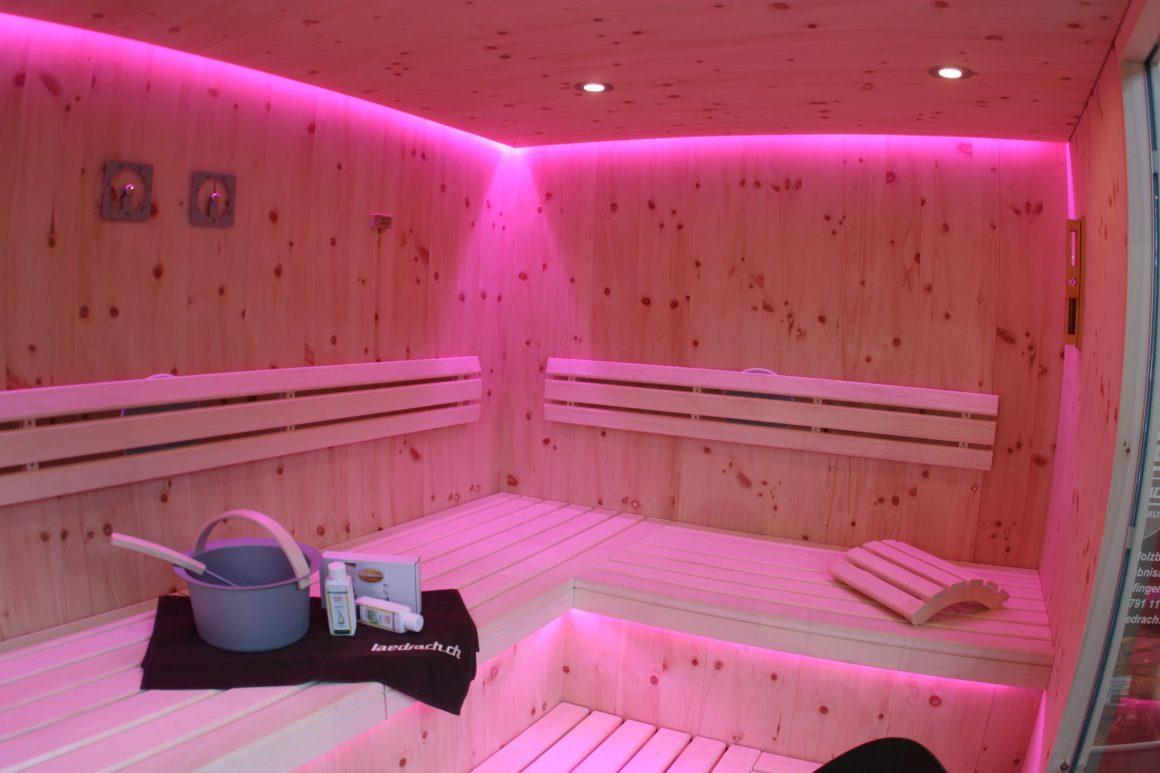 Saunaausbau Bad Schinznach