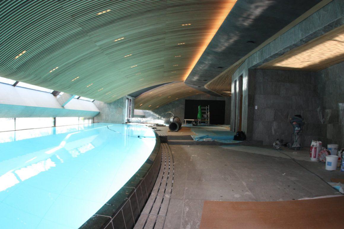 Neubau Schwimmbad, St. Moritz